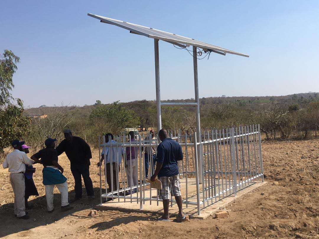 RISON 10HP Solar Pumping System Installed Successfully in Kenya